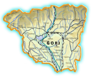 Harta Judetului Gorj by Fiii Gorjului